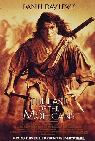 The Last Of The Mohicans (1992) Main Poster