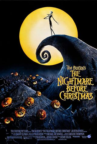 The Nightmare Before Christmas (1993) Main Poster