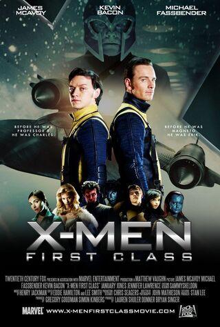 X-Men: First Class (2011) Main Poster