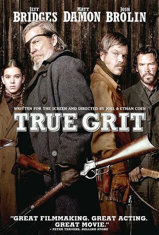 True Grit (2010) Main Poster
