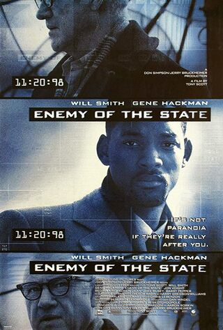 Enemy Of The State (1998) Main Poster