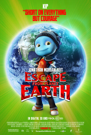 Escape From Planet Earth (2013) Main Poster