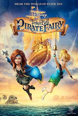 The Pirate Fairy (2014) Main Poster