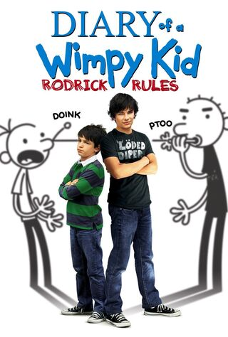 Diary Of A Wimpy Kid: Rodrick Rules (2011) Main Poster