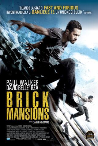 Brick Mansions (2014) Main Poster