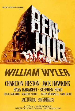 Ben-Hur (1959) Main Poster