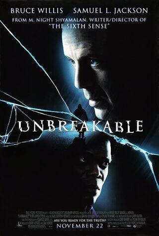 Unbreakable (2000) Main Poster