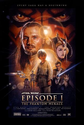 Star Wars Episode I: The Phantom Menace (1999) Main Poster