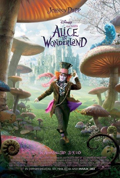 Alice in Wonderland (2010) Main Poster