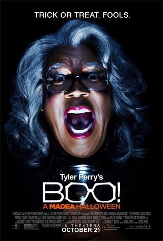 Tyler Perry's Boo! A Madea Halloween (2016) Main Poster