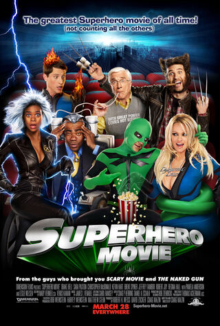 Superhero Movie (2008) Main Poster