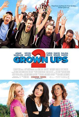 Grown Ups 2 (2013) Main Poster