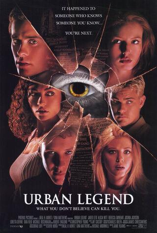 Urban Legend (1998) Main Poster