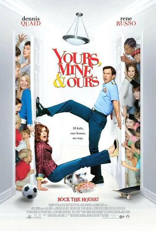 Yours, Mine & Ours (2005) Main Poster