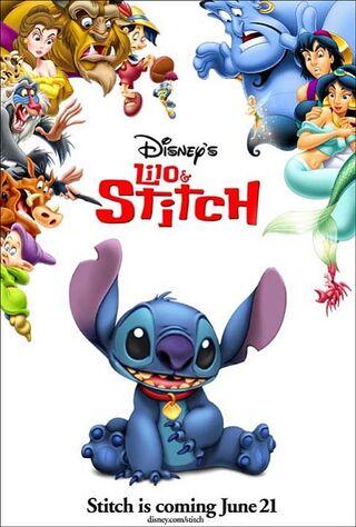 Lilo & Stitch (2002) Main Poster