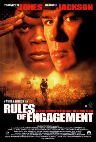 Rules Of Engagement (2000) Main Poster