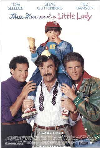Three Men And A Little Lady (1990) Main Poster