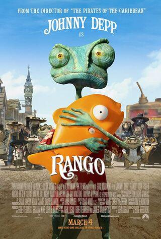 Rango (2011) Main Poster