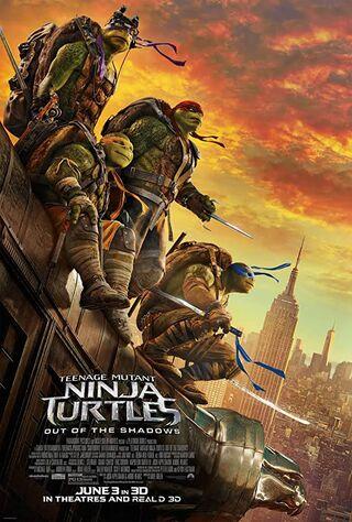 Teenage Mutant Ninja Turtles: Out Of The Shadows (2016) Main Poster
