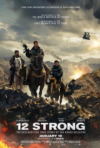 12 Strong (2018) Main Poster