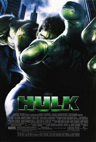 Hulk (2003) Main Poster