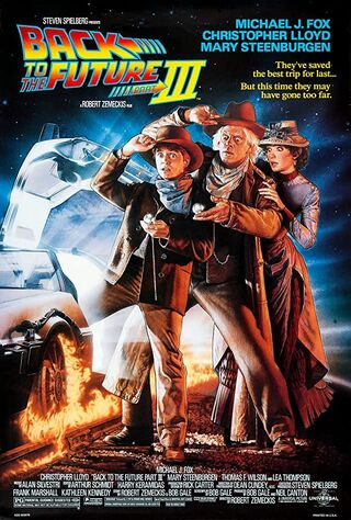 Back To The Future Part III (1990) Main Poster