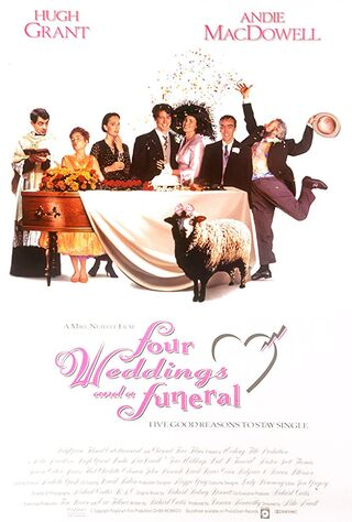 Four Weddings And A Funeral (1994) Main Poster