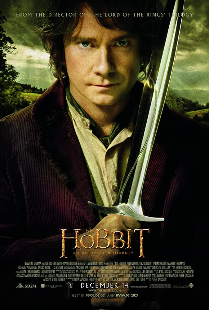 The Hobbit: An Unexpected Journey (2012) Main Poster