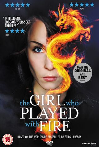 The Girl Who Played With Fire (2010) Main Poster