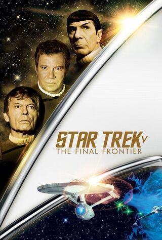 Star Trek V: The Final Frontier (1989) Main Poster