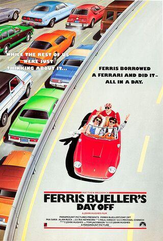 Ferris Bueller's Day Off (1986) Main Poster