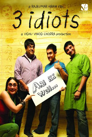 3 Idiots (2009) Main Poster