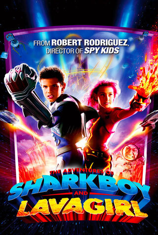 The Adventures Of Sharkboy And Lavagirl 3-D (2005) Main Poster