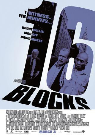 16 Blocks (2006) Main Poster