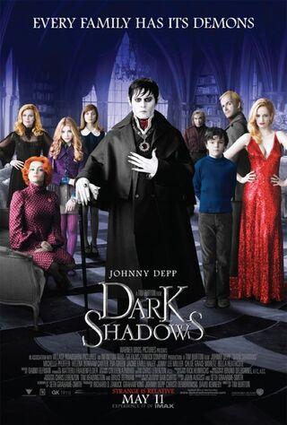 Dark Shadows (2012) Main Poster