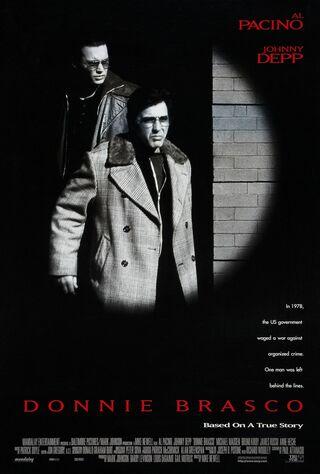 Donnie Brasco (1997) Main Poster