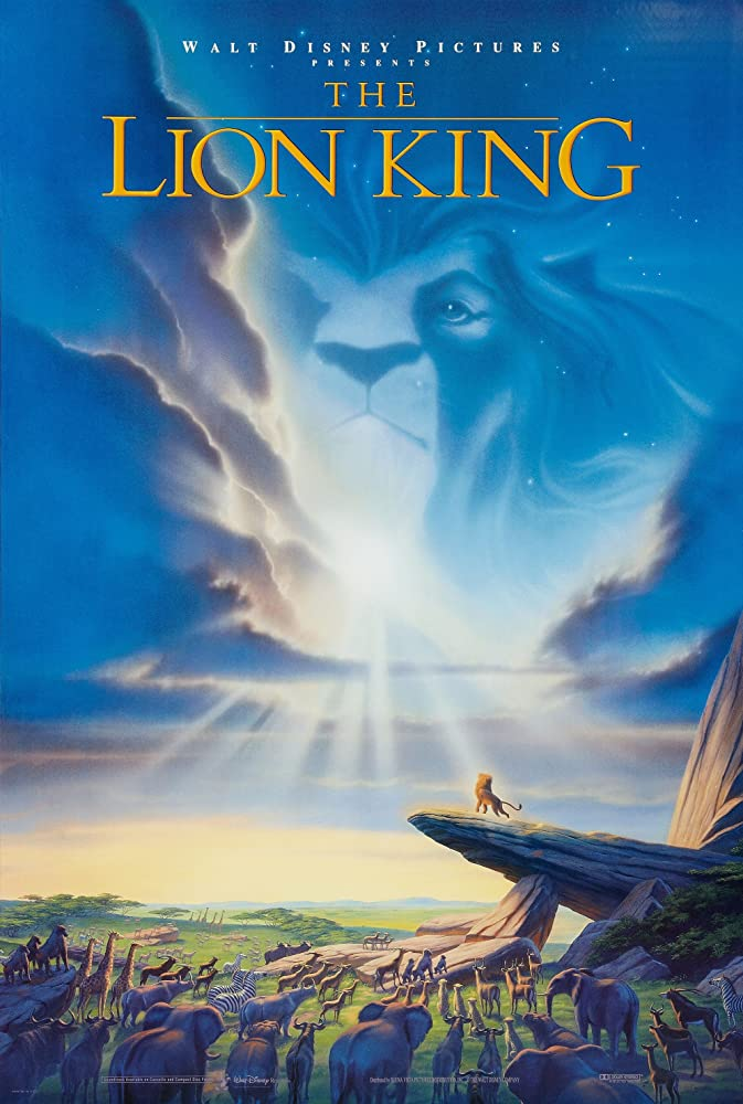 The Lion King (1994) Main Poster