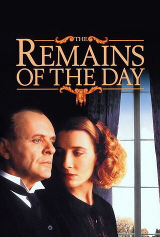 The Remains Of The Day (1993) Main Poster