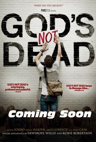 God's Not Dead (2014) Main Poster