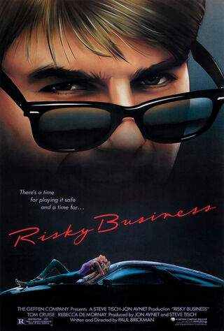 Risky Business (1983) Main Poster