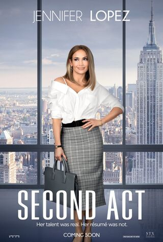 Second Act (2018) Main Poster