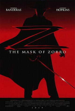 The Mask Of Zorro (1998) Main Poster