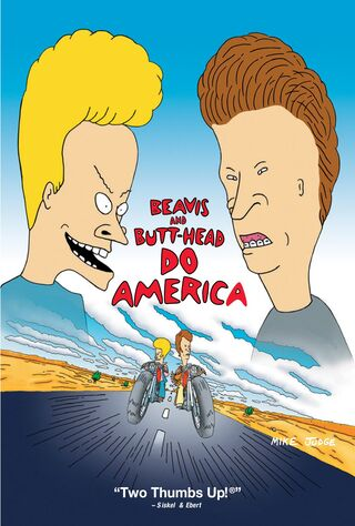 Beavis And Butt-Head Do America (1996) Main Poster