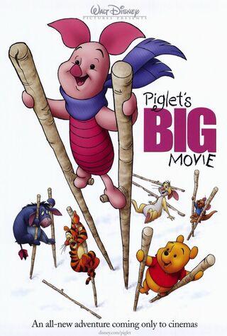 Piglet's Big Movie (2003) Main Poster