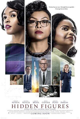 Hidden Figures (2017) Main Poster