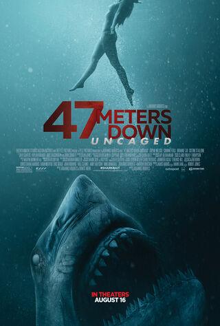 47 Meters Down (2017) Main Poster