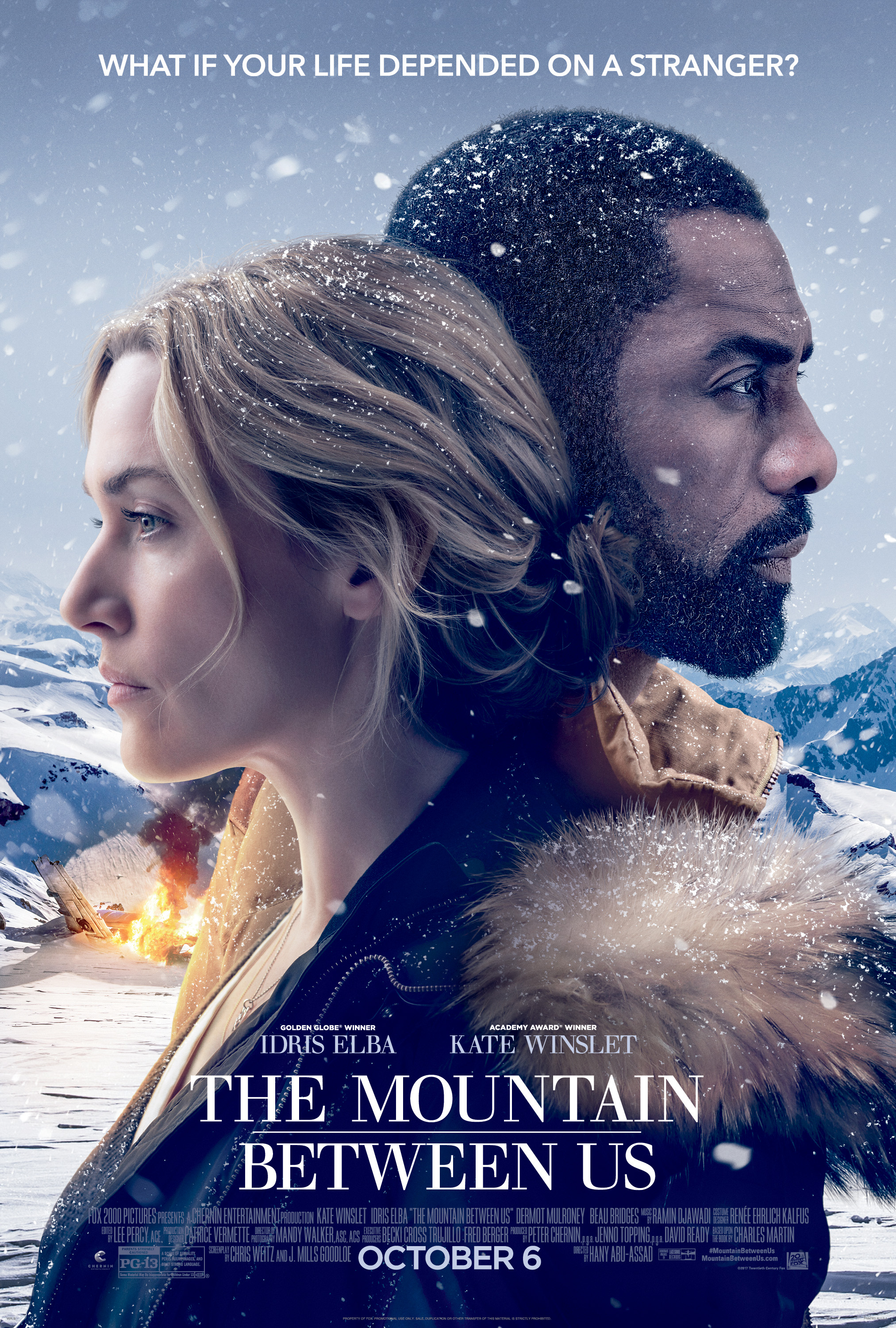The Mountain Between Us Main Poster