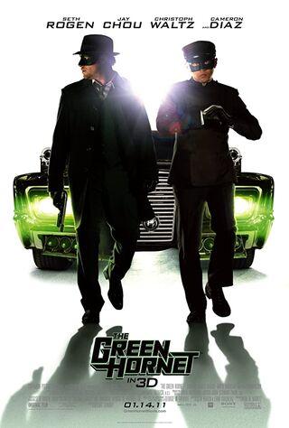 The Green Hornet (2011) Main Poster