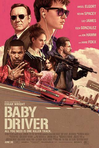Baby Driver (2017) Main Poster