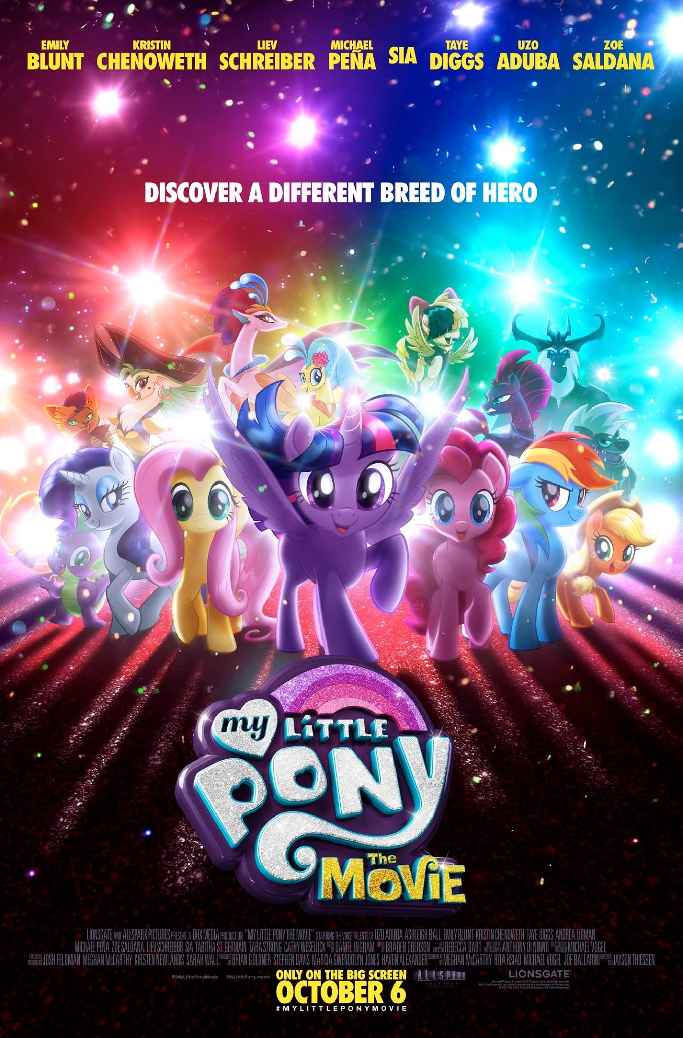 My Little Pony: The Movie (2017) Main Poster
